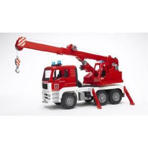 知育玩具 模型  MAN救急クレーントラック 1/16模型|kyouzai-j