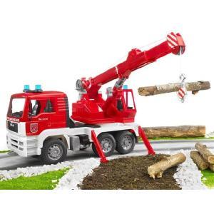 知育玩具 模型  MAN救急クレーントラック 1/16模型|kyouzai-j|03