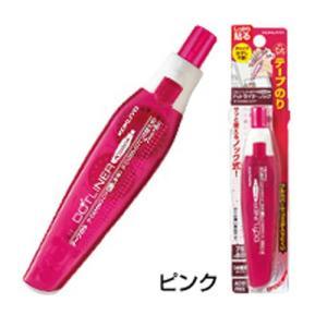 テープのり  コクヨテープのり ドットライナーノック(ピンク) kyouzai-j