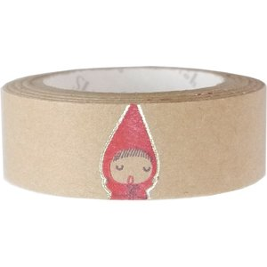 クラフトデコレーションテープ  red hood pochon クラフトデコレーションテープ 『きらぴか』|kyouzai-j