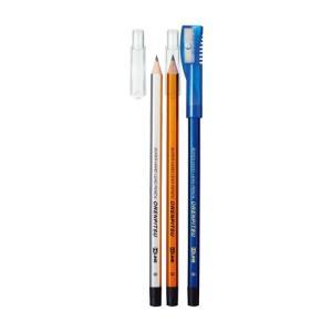 学童用品 鉛筆  クツワ オレンピツ(B)3本削りセット|kyouzai-j