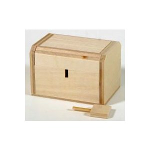 教材 おもしろ教材 からくりパズル工作キット 宝箱|kyouzai-j