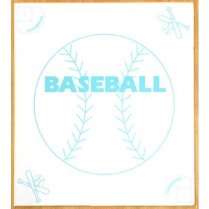 スポーツ色紙 野球 ベースボール kyouzai-j