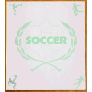 スポーツ色紙 サッカー kyouzai-j