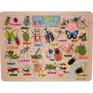 木製知育パズル【昆虫のなかま】の商品画像
