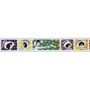 mt マスキングテープ 手塚キャラクターズ リボンの騎士×フラワーパターン (18mm×7m)MTTOPR02 kyouzai-j