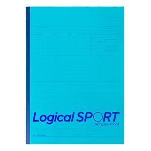 ロジカルスポーツは、スポーツに特化した1日1ページ単位の本文罫(ロジカルスポーツ罫)に 日々のトレー...