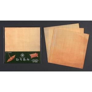 教材  知育玩具 遊び創意  金網のおりがみ ORIAMIおりあみ 15cm×15cm Copper(純銅)3枚入り kyouzai-j