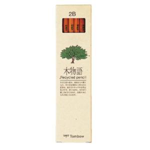学童用品 鉛筆   トンボ鉛筆 木物語(2B)|kyouzai-j