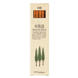 学童用品 鉛筆   トンボ鉛筆 木物語(HB)|kyouzai-j