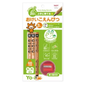 学童用品 鉛筆  トンボ鉛筆 おけいこえんぴつセット6B|kyouzai-j