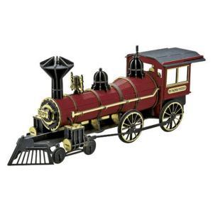 『3D立体ペーパーパズル』大人のペーパークラフト『蒸気機関車レッド』|kyouzai-j