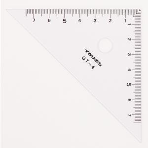 【単位と測定】 三角定規 目盛10cm/ゼロスタート 2枚組|kyouzaiitiya