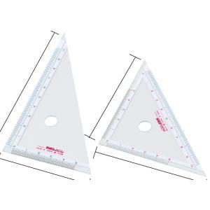 【単位と測定】 三角定規 目盛10cm 2枚組|kyouzaiitiya