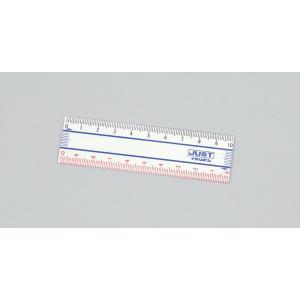 【単位と測定】 ジャスト定規 10cm/ゼロスタート|kyouzaiitiya