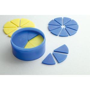 【単位と測定・立体】 丸型分数説明器 小|kyouzaiitiya