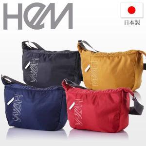 バッグ ショルダーバッグ レディース メンズ HeM hem ヘム ナイロン ショルダーバッグ ST-234-04  斜めがけ プラチナレーベル 通学 刺繍 お洒落 日本製 国産 kyowa-bag