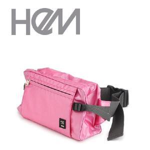 バッグ ウエストバッグ レディース HeM hem ヘム ボディバッグ ウェストポーチ TR-001-18 ウエストバック kyowa-bag