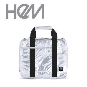 バッグ PCケース レディース HeM hem ヘム PCケース 13インチ WS-012-06 パソコン 合皮 メタリック ホワイト グレー シルバー ゴールド お洒落 メタリック kyowa-bag
