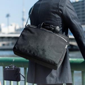 ビジネスバッグ ビジネスバック メンズ ブリーフケース B4サイズ収納 ダブル Lサイズ スーツケース取り付け可能 鞄 マンハッタンエクスプレス アウトレット|kyowa-bag