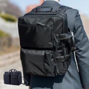 ビジネスバッグ メンズ 3WAY リュックサック・ショルダーバッグ・ブリーフケース B4サイズ スーツケース接続可能 マンハッタンエクスプレス アウトレット|kyowa-bag