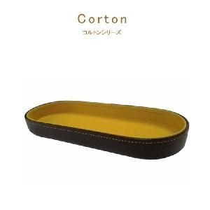 ペントレー メンズ 革 おしゃれ corton コルトン ペントレイ 卓上 牛革 コットン 日本製 高級|kyowa-bag