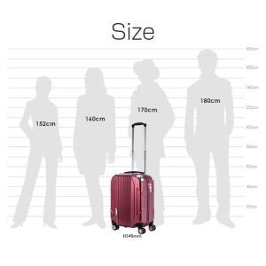 スーツケース 機内持ち込み 小型 Sサイズ 軽量 4輪 トランク キャリーケース 旅行かばん TRAVELIST トラベリスト  TSAファスナーロック CAPALIER キャパリエ|kyowa-bag|04