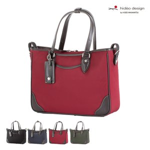ビジネスバッグ メンズ 紳士バッグ HIDEO WAKAMATSU ヒデオワカマツ ブリング ナイロン×牛革トートバッグ ビジネスバッグ|kyowa-bag