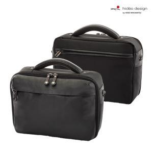 HIDEO WAKAMATSU ビジネスバッグ ショルダーバッグ メンズ 紳士バッグ ヒデオワカマツ ファットハンドル32cm