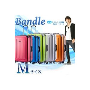 スーツケース 中型 Mサイズ TSAロック トランク キャリーケース 旅行かばん HIDEO WAKAMATSU コーナーパッド付きスーツケース バンドル|kyowa-bag