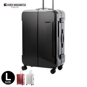 スーツケース 大型 Lサイズ キャリーケース ナロー2  HIDEO WAKAMATSU 軽量 TSAロック|kyowa-bag