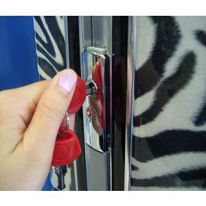 スーツケース 小型 Sサイズ TSAロック 4輪 かわいい トランク キャリーケース 旅行かばん HIDEO WAKAMATSU アニマル柄プリントスーツケース ゼブラ|kyowa-bag|04