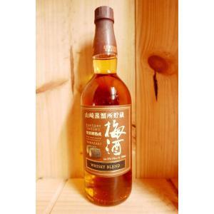S山崎蒸留所貯蔵 焙煎樽熟成梅酒 750ml kyoya-wine-net