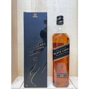 ジョニーウォーカー ブラックラベル12年 700ml|kyoya-wine-net