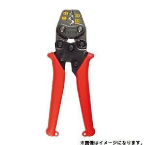 (お買い得)エビ ミニ圧着工具 銅線用裸圧着端子・裸圧着スリーブ(P.B)用 AK2MA|kys