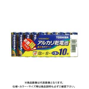 東芝 アルカリ電池 単三10本パック LR6L10MPの商品画像