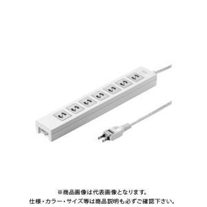 サンワサプライ 電源タップ 2m TAP-F27-2Z