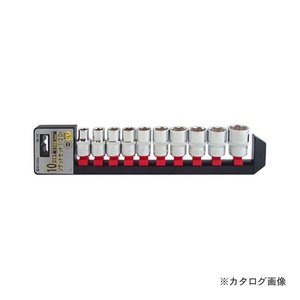 SSPOWER ソケットセット 10pcs S4-10 1/2DR|kys