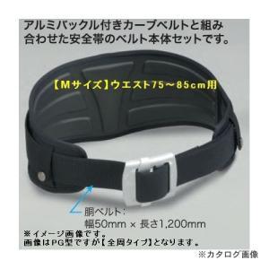 タイタン 安全帯用腰部サポーター プロガード 3D 【Mサイズ】ベルト本体セット PF-PGRM型|kys