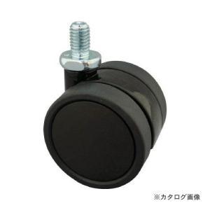 (訳あり在庫処分)トーシン ねじ込み双輪キャスター 60径 自在ボルト M8x1.25 TU60-BM8XP1.25|kys