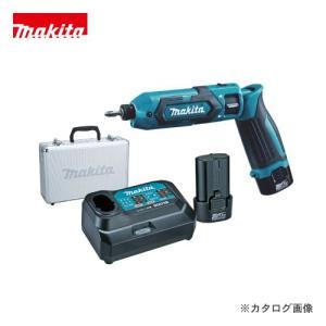 (お買い得)マキタ Makita 7.2V 1.5Ah 充電式ペンインパクトドライバ 青 バッテリー×2本・充電器・アルミケース付 TD022DSHX|kys