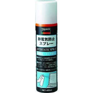 TRUSCO 静電気防止スプレー 420ml TC-SB420|KanamonoYaSan KYS
