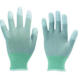 TRUSCO 指先コート静電気対策用手袋 Mサ...の関連商品1