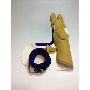 【弓かけ 中離(あたり) 三分縁 男性用サイズ 征矢弓具製作 】 弓道 道具 ゆがけ送料無料