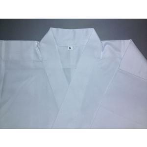 【上衣 白 綿:ポリ 後ポケット付】 弓道 和弓 弓道衣 女性用 サイズ SS〜5L  M  女性用
