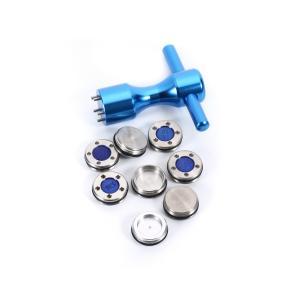 送料無料 スコッティ キャメロン用カスタムソールウェイト ブルー ウェイト25g30g35g40g×2個+Tレンチ セット kyuhin999