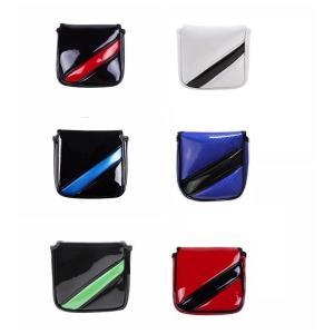 パターカバー マレット用 オデッセイ2ボール・テーラーメイド スパイダーパターに対応 磁石タイプ開閉...