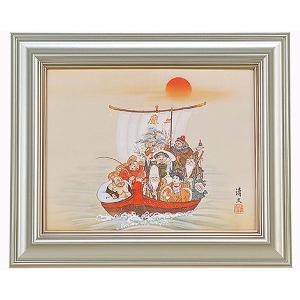 絵画 加藤清文 七福神宝舟 F6 お取り寄せ品|kyuhodo