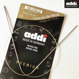 addi 輪針プレミアム 60cm - 1.5mm/1.75mm 日本サイズ0号以下 105-7|kyupi