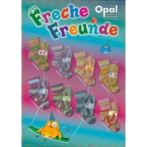 Opal Freche Freunde オパール ノーティー フレンド 4本撚り|kyupi